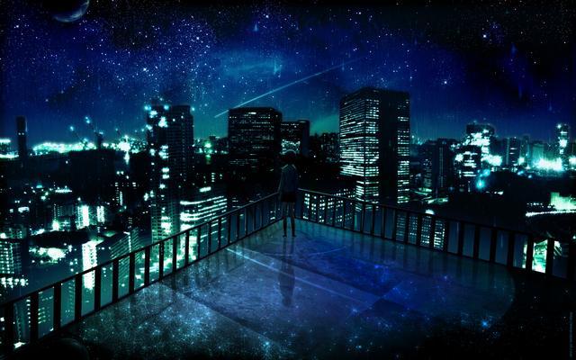 Anime Desktop Wallpaper Night