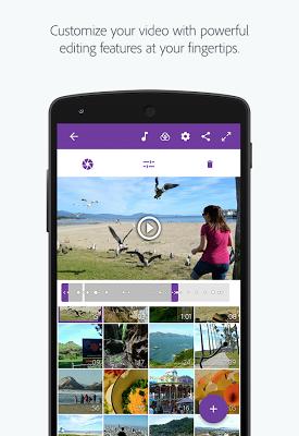 Adobe Premiere Clip - screenshot