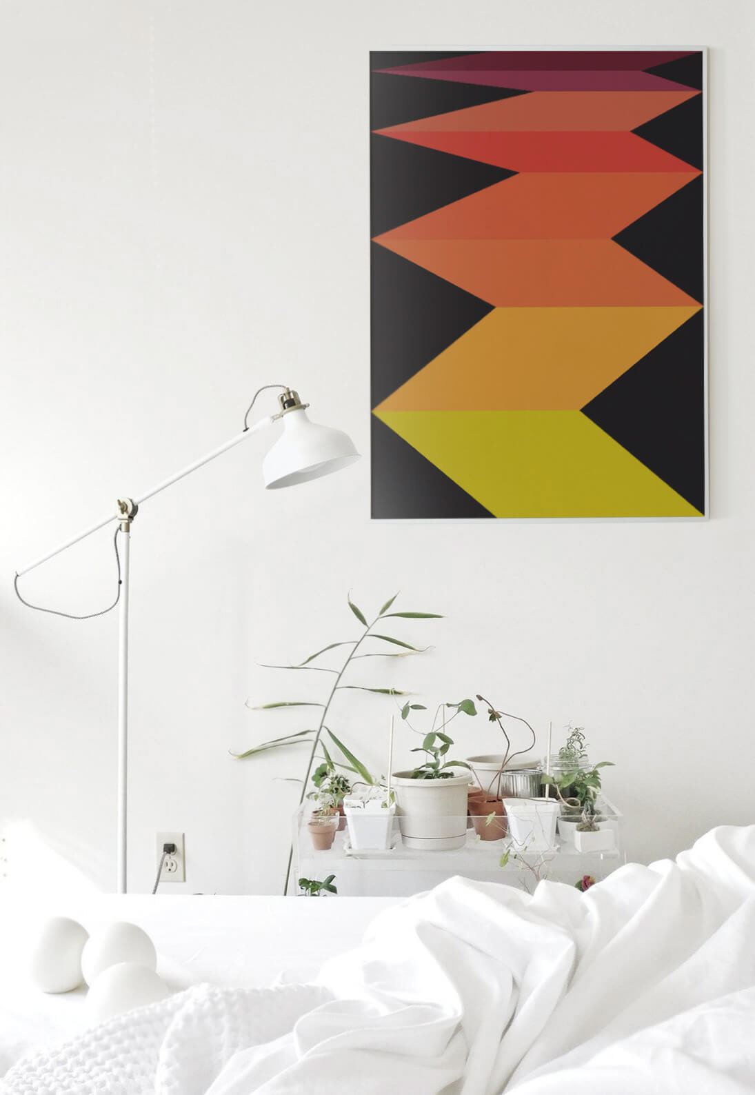 abstract art geometry home minimal prints shop store
