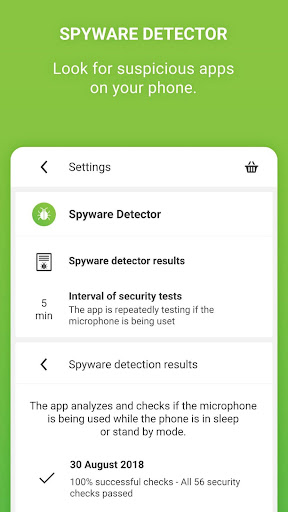 Microphone Block Free -Anti malware & Anti spyware screenshot