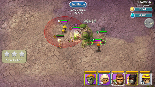 Forest Of Heroes : Clash Of Hero captures d'u00e9cran 1