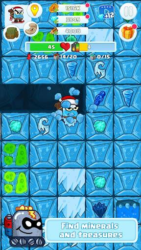 Digger 2: dig and find minerals screenshots 1