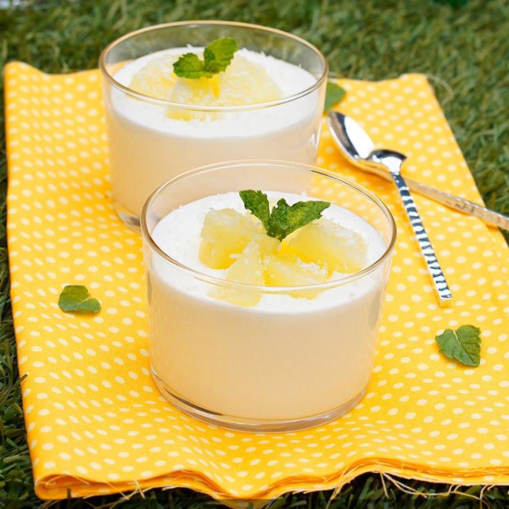 Pineapple Coconut Cream Recipe