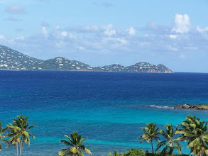 Photo: Our Bay, the Sapphire Point, and St. John in the Distance