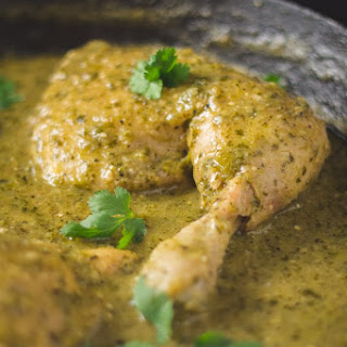 Green Mole Chicken (Pollo en Mole Verde) Recipe