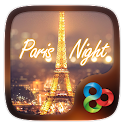 Paris Night GO Launcher Theme