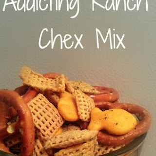 Super Addicting Ranch Chex Mix