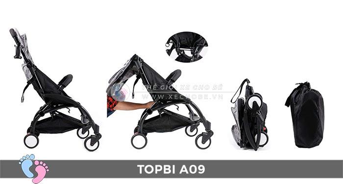 Xe đẩy trẻ em TOPBI A09 7