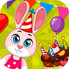 Birthday - fun children's holiday icon