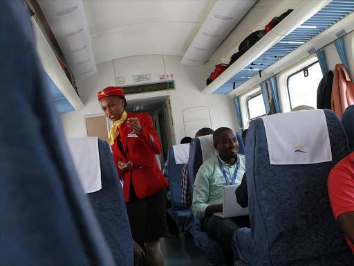No point riding first class': Kenyan woman shares SGR's good