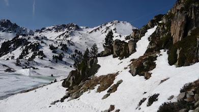 Photo: A droite la face nord notre objectif 2781 m