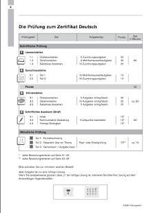 screenshot image - B1 Prufung Muster
