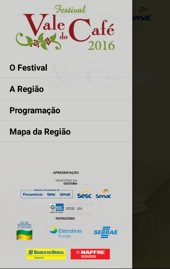 Festival Vale do Café- screenshot