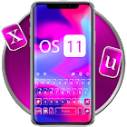 OS11 Melt Color Tema de teclado icon