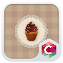 Chocolate Cupcake Theme icon