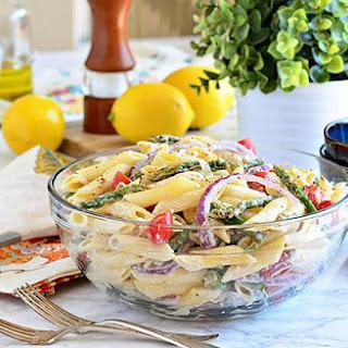 Creamy Asparagus Pasta Salad