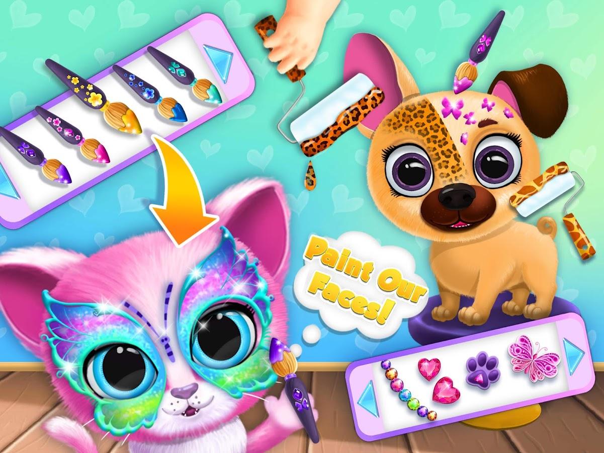 Kiki & Fifi Pet Beauty Salon - Haircut & Makeup - Android ...