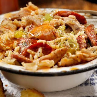 Creole Chicken and Rice Casserole.