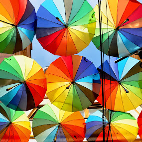 Illustration by J & M - Artistic Objects Other Objects ( ornamental, bucharest, decoration, color, colorful, umbrella, illustration, nice, image, romania, view, pretty )