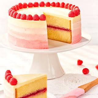 Raspberry Ombre Cake Recipe