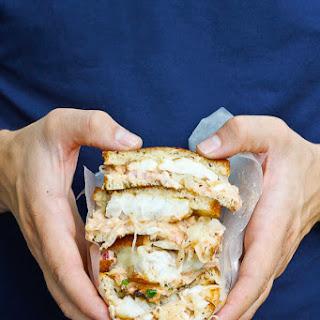 Cod Reuben Sandwich.