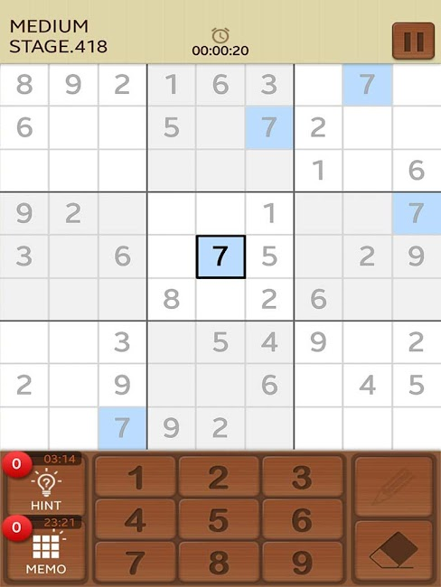 #6. Sudoku Mania (Android)