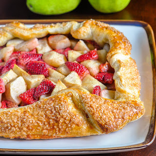 Strawberry Pear Galette.