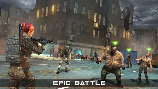 Zombie Hunter mort 2019: Jeux gratuits Zombie Surv  captures d'écran 2