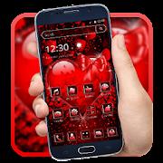 أحمر قلب الحب موضوع APK