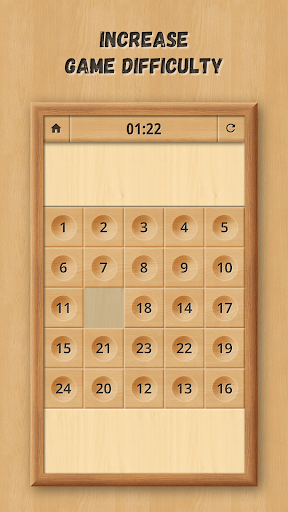 Sliding Puzzle: Wooden Classics 1.0.5 screenshots 13