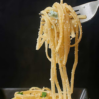 Lightened Up Greek Yogurt Lemon Pasta