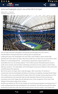 US Open Tennis Championships- screenshot thumbnail