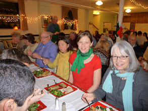 Photo: christmas dinner -- Ananda Center at Laurelwood