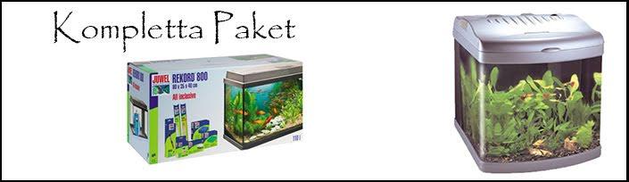 Kompletta Akvariepaket