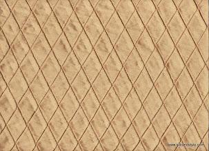 Photo: Pintuck Silk ~ Gold - 1 Inch Diamond