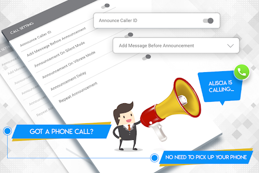 call announcer free download