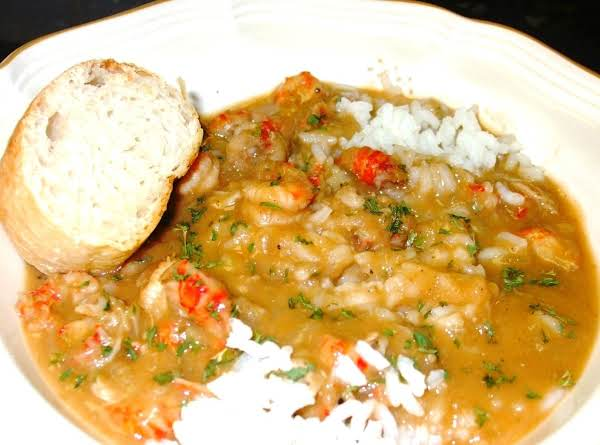 New Orleans Crawfish Etouffee At It's Finest!