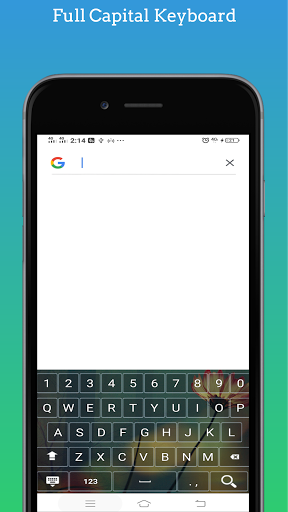 Capital Keyboard app screenshot 3