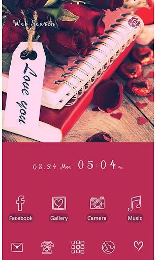 Cute Theme-Rosy Roses- 1.0.0 Windows u7528 2