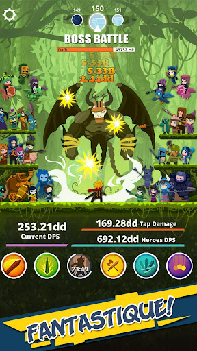 Télécharger Tap Titans mod apk screenshots 2