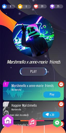 Marshmello Piano Tiles DJ  Wallpaper 1