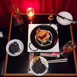 our dinner adventure at Vampire Cafe in Tokyo in Tokyo, Tokyo, Japan