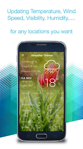 iWeather Themer - Wallpapers