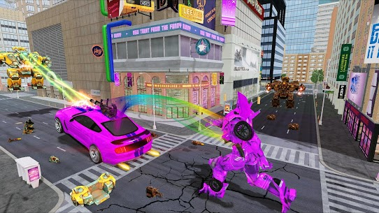 Robot Games : Ultimate Robot Car Transform Games 5