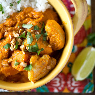 Coconut Chicken and Sweet Potato Stew.