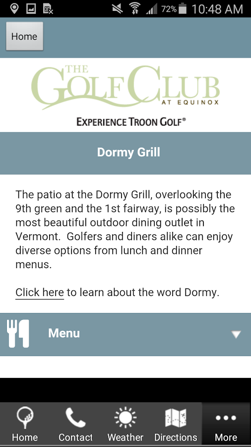 The Golf Club at Equinox- screenshot