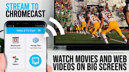 Video & TV Cast | Chromecast screenshot 1