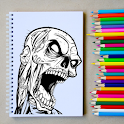 How to Draw a Horror Character Step by Step icon