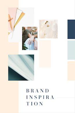 Lifestyle Brand Inspiration - Brand Board item