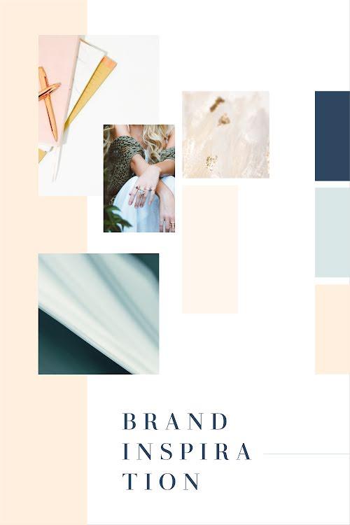 Lifestyle Brand Inspiration - Brand Board Template